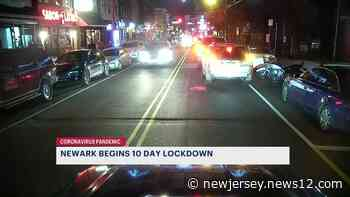 Newark begins 10-day stay at home order, restarting curfews - News 12 New Jersey