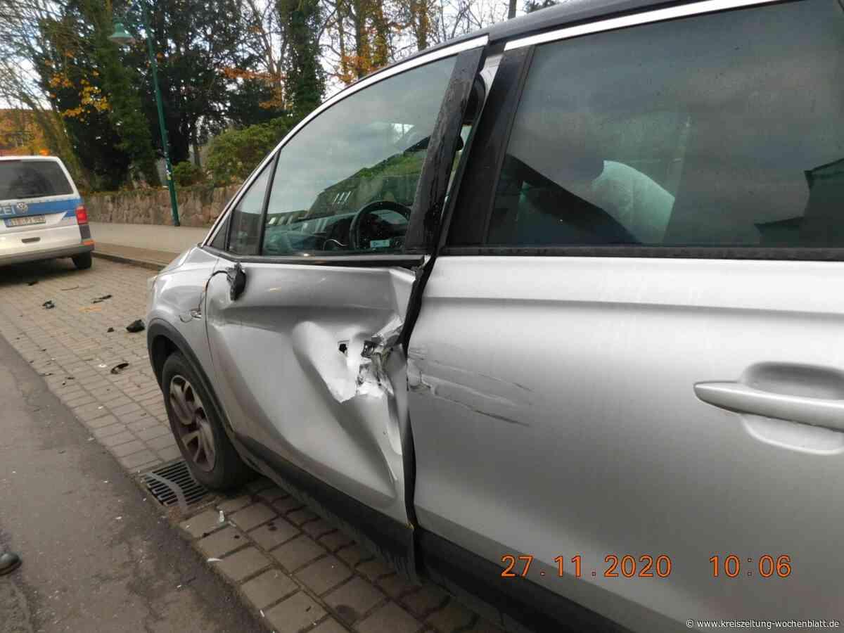 Hoher Schaden nach Unfall: Fahrerflucht in Harsefeld - Kreiszeitung Wochenblatt