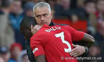 Eric Bailly says conversation with Jose Mourinho made him choose Manchester United over City