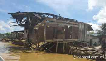 Vigía del Fuerte pide ayudas al Gobierno Nacional tras desbordamientos - Caracol Radio