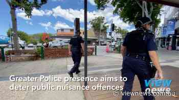 Greater Police presence aims to deter public nuisance offences in Nambour - View News Sunshine Coast