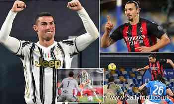 Italy the veterans' playground with Cristiano Ronaldo and Zlatan Ibrahimovic top of scoring charts