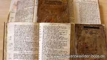 Digital einsehbar: Haderbücher geben Einblick ins Dorfleben vor 500 Jahren - Schwarzwälder Bote
