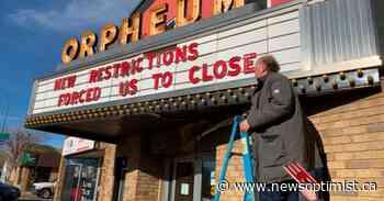 Theatres across Saskatchewan close due to COVID restrictions on concession sales - The Battlefords News-Optimist