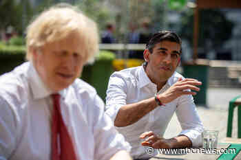 U.K.'s first non-white leader? Finance minister Sunak wins praise for staying calm in a crisis