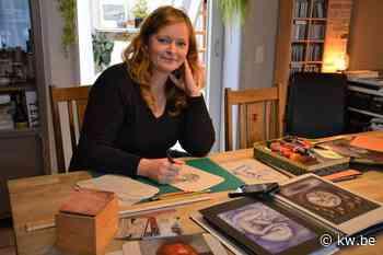 Tekenen als meditatie voor kunstenares Veerle