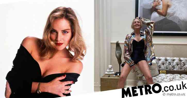 Sharon Stone 'astounded and grateful' she's still modelling at 62 as she stuns in new snap