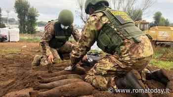 Quindici bombe della seconda guerra mondiale ritrovate a Trigoria