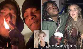 Rapper who filmed Holby City actor's daughter as she died of overdose grins in Instagram picture