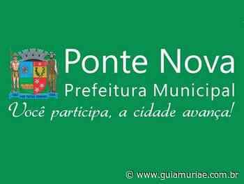 Prefeitura de Ponte Nova abre processo seletivo com diversas vagas - Guia Muriaé