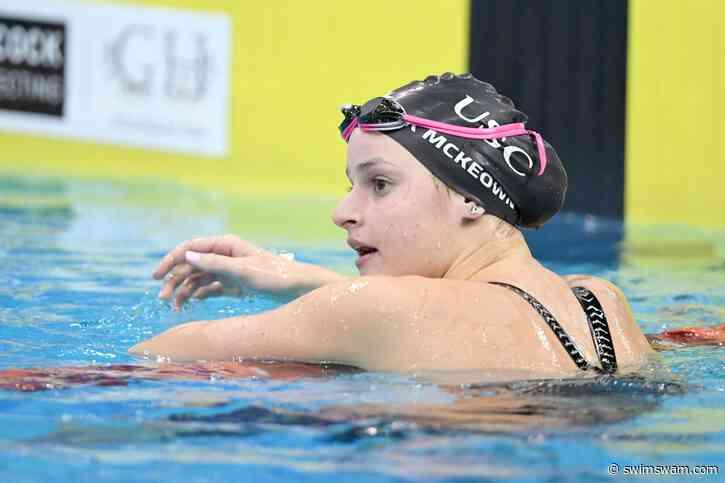 Campionati Australiani Kaylee McKeown Record Oceania 200 Mx 2:03.68