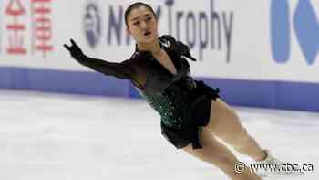 Kaori Sakamoto wins NHK Trophy women's title with near-perfect skate