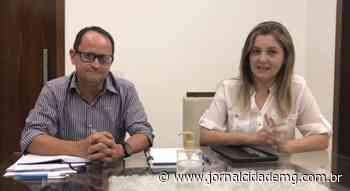 Prefeito Di-Gianne apresenta nova secretária de Saúde de Lagoa da Prata - Jornal Cidade