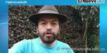 El presentador César el de Tabio felicita a EL NUEVO DÍA en su cumpleaños 28 - El Nuevo Dia (Colombia)