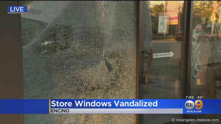 Police Investigating Vandalism Spree From Tarzana To Studio City