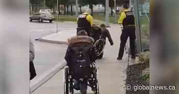 Police investigate video showing security guard dumping man out of wheelchair in St. Catharines