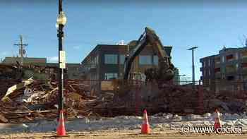 Riversdale building that housed The Hollows, Golden Dragon demolished