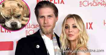 Kaley Cuoco and Husband Karl Cook Mourn Death of Rescue Dog Petunia: 'We Love You' - Us Weekly