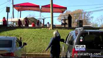 Baptist church in Winona holds Thanksgiving service outdoors - WTVA