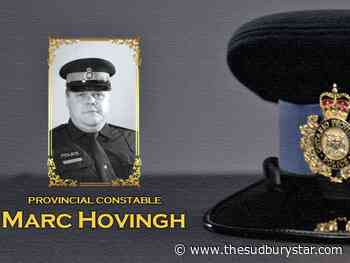 Watch live: Funeral service for OPP Provincial Constable Marc Hovingh