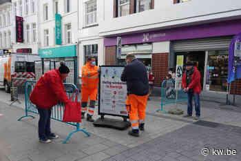 West-Vlaamse steden bereiden zich voor op heropening van niet-essentiële winkels