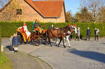 Sinterklaas komt aan in Oostkamp