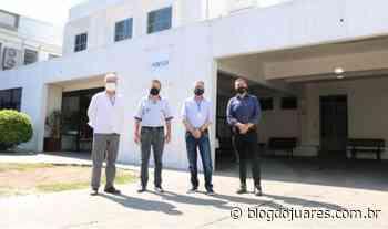 Hospital Nossa Senhora Aparecida de Camaquã inicia revitalização da pintura externa - Blog do Juares