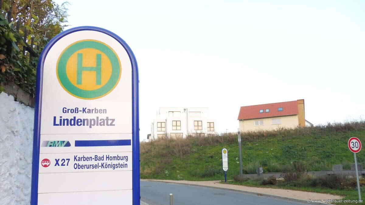 Neue Bushaltestelle am Lindenplatz - Wetterauer Zeitung