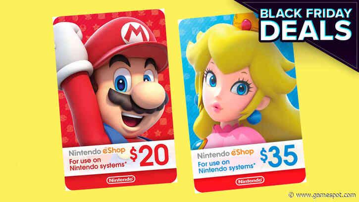 Snag This Black Friday Deal Before You Shop The Switch eShop Sale