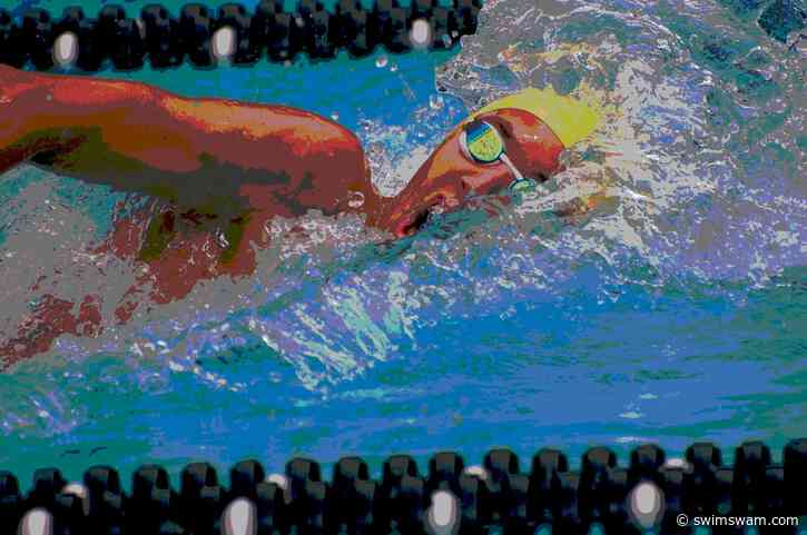 Aussie Teen Sam Short Hits 7:38.97 SCM 800 Free Age Record