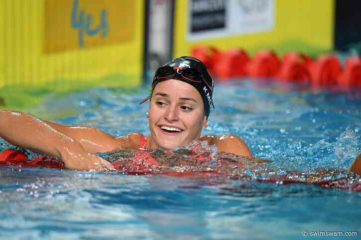 Kaylee McKeown rompe el récord mundial de Hosszu en 200 espalda