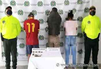 Allanaron dos viviendas y se realizaron tres capturas por microtráfico en Ambalema - Alerta Tolima