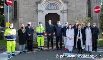 Solidarietà mantovana, la comunità di Castellucchio dona due ventilatori al Poma - Prima Mantova