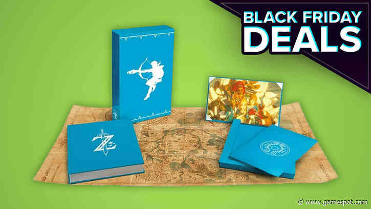 This Awesome Zelda Art Book Is 50% Off At Amazon For Black Friday