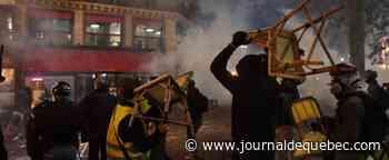 Loi sécuritaire : forte mobilisation et affrontements en France