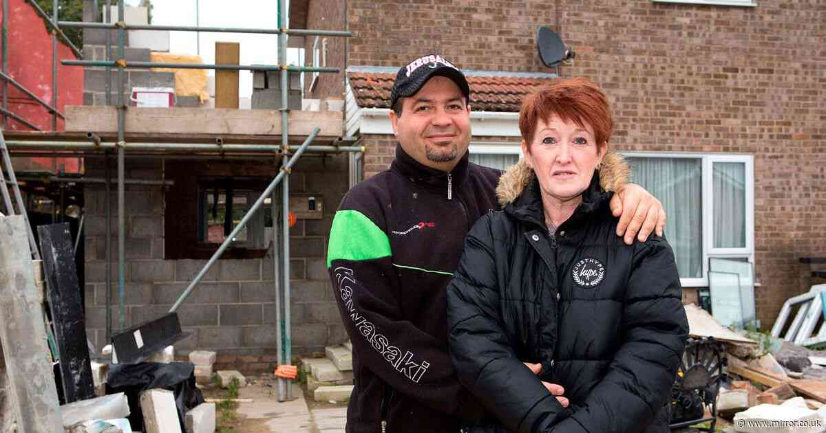Mum lost £80k to cowboy builder - but finds love with man who helped her rebuild