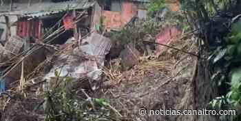 13 viviendas a punto de colapsar en Suaita, Santander - Canal TRO