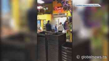 Video captures confrontation over mandatory mask at Victoria market