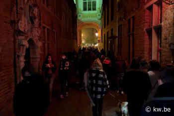 Politie vraagt om weg te blijven van lichtfestival Wintergloed in Brugge