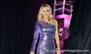 Strictly's Tess Daly surprises viewers in bold sequinned lilac dress