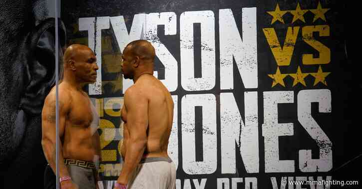 Mike Tyson vs. Roy Jones Jr. live stream online