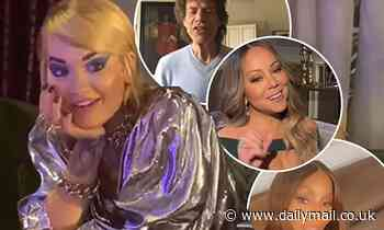 Rita Ora wowed as host of stars wish her a happy 30th birthday in video