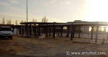 Les travaux du nouveau stade de l'AS Rognac avancent ! - Actufoot