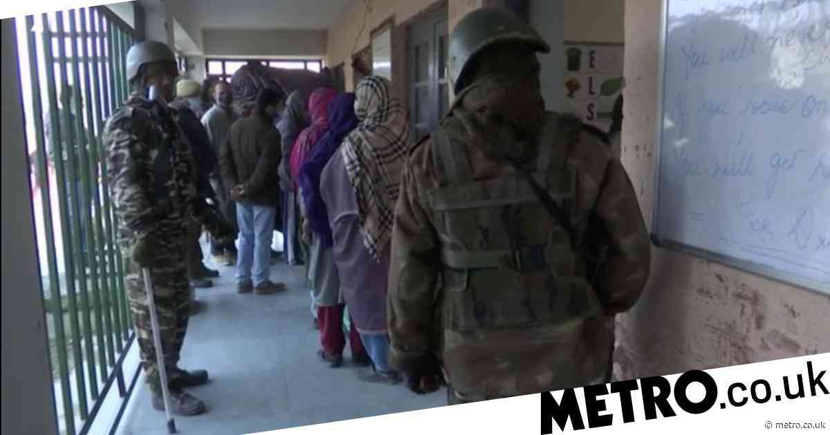 Kashmir votes in first local elections since India stripped it of autonomy