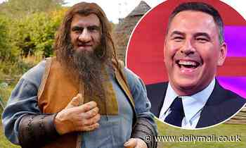 David Walliams transform into a GIANT for new Christmas special about Jack and the Beanstalk