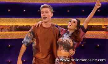 HRVY emotional as he makes Strictly history
