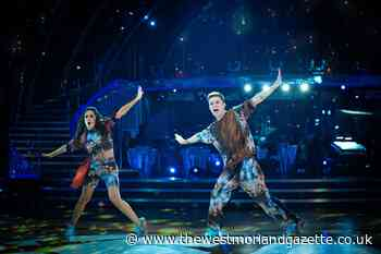 HRVY makes Strictly history after securing perfect score