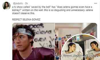 Selena Gomez fans slam Saved By The Bell reboot for tone-deaf jokes about her kidney transplant