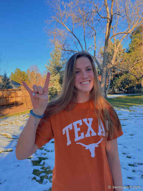 Chase Davison Joins Another Breaststroke-Heavy Class for the Texas Women (2022)
