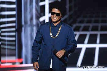 Bruno Mars creates Angela Davis-inspired art for charity - Page Six